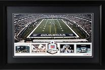 AT&T Stadium Dallas Cowboys Framed Panoramic Collage with
