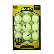 Stiga T1452 38 Count Multi Table Tennis Ball Pack - White