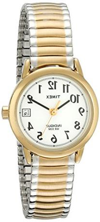 Timex Women's T2H381 Easy Reader Two-Tone Stainless Steel