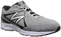 New Balance Men's T500 Turf Low Baseball Shoe,Grey/Black,8.5