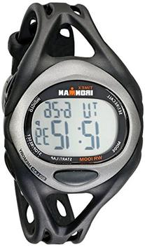 Timex Men's T54281 Ironman Sleek 50 Full-Size Black/Silver-