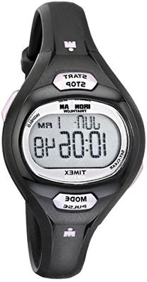 Timex Women's T5K187 Ironman Essential Pulse Black/Purple