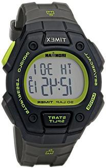 Timex Men's T5K824 Ironman Classic 30 Full-Size Gray/Black/