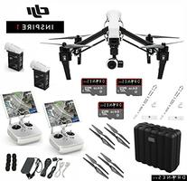 DJI T600 Inspire 1 Quadcopter with 4k Video Camera - Dual