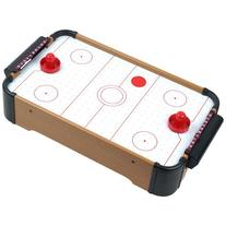Mini Arcade Air Hockey Table- A Toy for Girls and Boys by Hey! Play! Fun Table- Top Game for Kids, Teens, and Adults- Battery-Operated