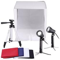 Neewer Table Top Square Photography Studio Tent Lighting Kit