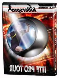 Killerspin 501-02 Table Tennis 2001 ITTF PRO Tour DVD,