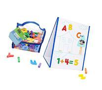 EduKid Toys Tabletop MAGNETIC EASEL & WHITEBOARD  & 72
