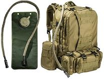 """Big Monkey"" Tactical Military Backpack with 3 Molle Bonus"