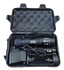 LED Tactical Flashlight - Outdoor Flashlight - Adjustable