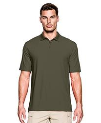 Under Armour Men's Tactical Range Polo, Marine Od Green, X-