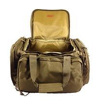 Osage River Tactical Shooting Gun Range Bag, Coyote Tan,
