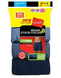 Hanes Men`s TAGLESS Boxer Briefs with ComfortSoft Waistband