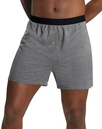 Hanes Men's TAGLESS® ComfortSoft® Knit Boxers with