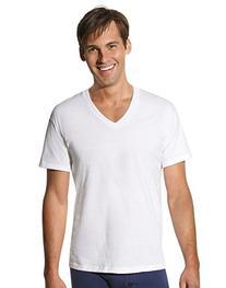 Hanes Men's Tall Tagless V-Neck Undershirt