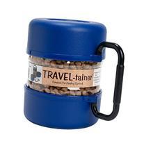 Vittles Vault Pet Food Travel-Tainer Kit, Blue