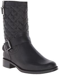Aerosoles Women's Take Pride Boot,Black Quilted,7.5 M US