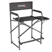 Tailgaterz Take-Out Seat Steel Chair with Side Table, Game