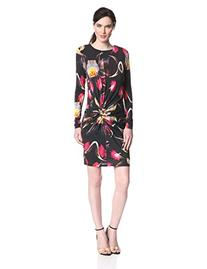Ted Baker Women's Talala Floral Print Long Sleeve Dress,