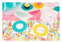 Talking Tables Floral Fiesta Disposable Doilies for a Tea