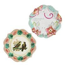 Talking Tables Pastries & Pearls Vintage Style Paper Plates