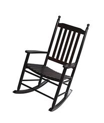 Gift Mark Adult Tall Back Rocking Chair, Espresso