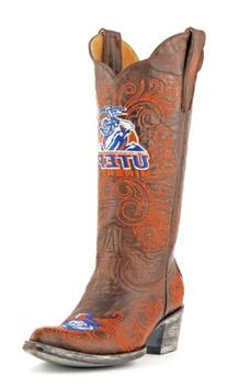 """Gameday Women's 13"""" Tall Leather Texas At El Paso Cowboy"""