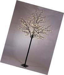 Akari 8-Foot Tall Cherry Blossom City Tree with 600 Micro