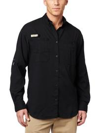 Columbia Men's Tamiami II Long Sleeve Shirt, X-Large/Black