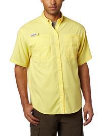 Columbia Men's Tamiami II Short Sleeve Shirt, X-Large, Sunit
