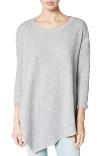 Women's Soft Joie Tammy French Terry Asymmetrical Sweatshirt