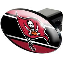 Tampa Bay Buccaneers Oval Trailer Hitch Cover