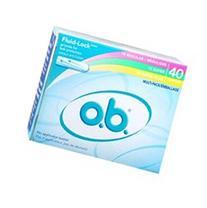 O.B. Tampons Multi-Pack Multi-Pack 40 Ct