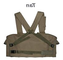 Tan 7-Pouch Tactical Chest Rig