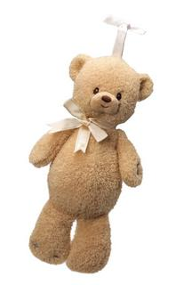 Gund Tan Soothing Sounds Plush Teddi Bear
