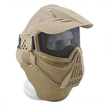 Canis Latran Tan High Strength Steel Wire Round Mesh Mask