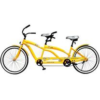 "Kulana Lua Single Speed Tandem 26"" wheel, Yellow, 17""/Medium"