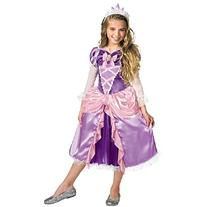 Disguise Costumes Tangled - Rapunzel Lame Deluxe Child, 4-6x