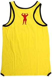 Universal Nutrition Tank Top, Yellow, Large
