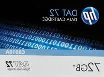 "HP 1/8 inch Tape DDS Data Cartridge - 1/8"" DAT 72 Cartridge"