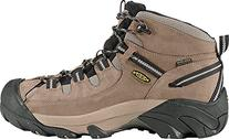 KEEN Men's Targhee II Mid Wide Hiking Shoe, Shiitake/Brindle