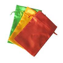 Tarot Bags: Peace Colors Satin Bundle of 3: Orange Daffodil