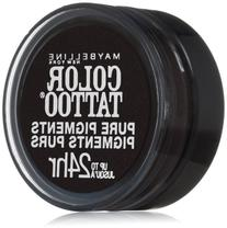Maybelline Color Tattoo Pure Pigments Loose Powder, Black