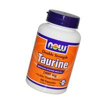 Now Foods Taurine Double Strength 1000mg, 100 caps