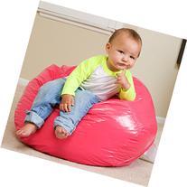 Taylor Hot Pink Vinyl Kids Bean Bag