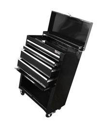 Excel TB2201X-Black 22-Inch Steel Chest Roller Cabinet