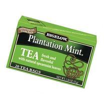 Bigelow Tea Bags, Plantation Mint, 20 tea bags