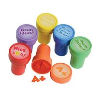 Teacher Stampers/6 Pc