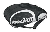 Wilson Team 12-Pack Bag, Black/Silver