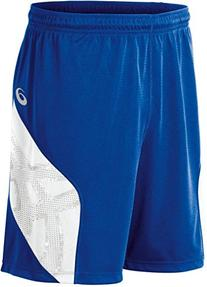 ASICS Men's Team Performance Volleyball Shorts, Royal/White